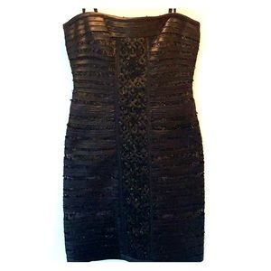 Black BCBG dress